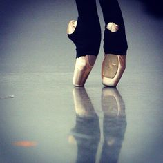 I used to own a pair of those pants for pointe shoes.
