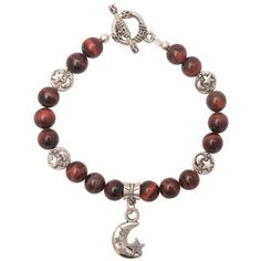 Red Tiger Eye Celestial Bracelet