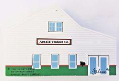 Cat's Meow Arnold Transit Company Waterfront Series Mackinac Signed Faline '94 #CatsMeow #ArnoldTransit