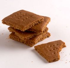 Homemade Graham Crackers--Layer these withHomemade Marshmallowsand top-quality dark chocolate for the ultimate s'mores. Via FineCooking