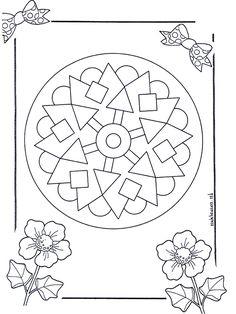 free printable mandalas, a form of meditation to help a raucous class