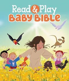 The Read & Play Baby Bible  is a padded cover board book with lots of Bible stories and themes (22, to be exact) to share with little one...