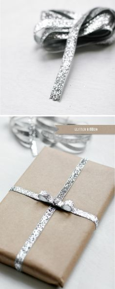 Gift Wrapping and packaging ideas Holidays Christmas Packaging Gifting Phoenix Photographer Glitter Ribbon