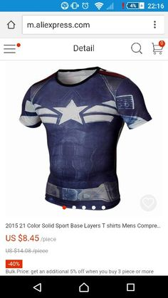 f35096d6ec20 Hardloop shirt captain america under armour