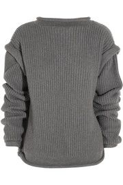 Christopher KaneOversized cashmere open-back sweater