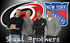 Just One Staal away from having all Staal Brothers on the same team!