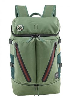 f78b9b3c3 Boba Fett's backpack. Nixon puts Star Wars into the product rather than  onto the product
