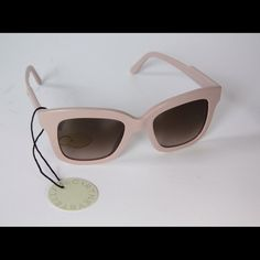 ✨ DESIGNER Stella McCartney Nude/Pink Sunglasses Brand new. Perfect condition. Case/paperwork/box included. So cute! A very light pink/nude shade. Neutral and very flattering coloring. Stella McCartney Accessories Sunglasses