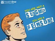 """You are not a stigma. You are a person!"" #mentalhealth"