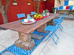 Mediterranean courtyard makeover  - Better Homes and Gardens
