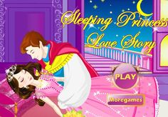 Glamorous sleeping princess Elizabeth is waiting for her handsome prince. Only their romantic and sweet love can help sleeping beauty break the spell. Dress her up, she is quite strikingly beautiful. Come on, let's help her!