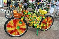 Roues Libres en Luberon: Déco vélo : mon vélo, ce sera le plus beau !