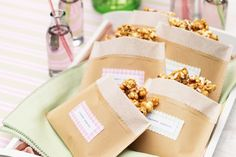 Spring is fundraising season and these gorgeous goodies are sure to sell like hot cakes. Popcorn Recipes, Snack Recipes, Gourmet Popcorn, Snacks, Cake Stall, Cowboy Birthday, Golden Birthday, How To Eat Better, Childrens Party