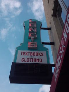 Long's book store, Ohio State campus, Columbus, OH.