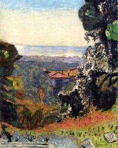 Pierre Bonnard / Paysage classique