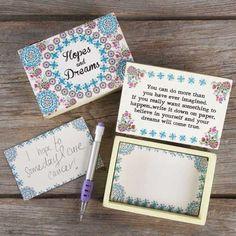 """Natural Life """"Hopes & Dreams"""" Prayer Box"""