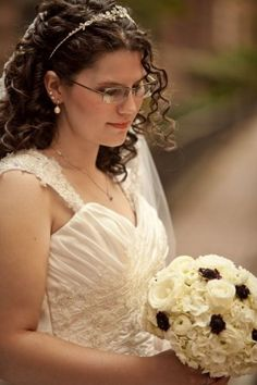 Naturally curly hair....wedding curls