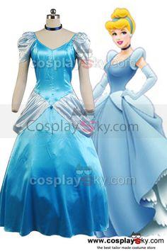 Disney-Princess-Cinderella-Party-Dress-Halloween-Costume-3