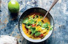 Til en efterårsdag. Den indiske suppe er spicy med masser af smag. Bliv ikke…