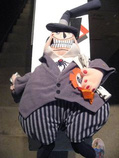 Nightmare Before Christmas TWO FACED MAYOR plush DOLL