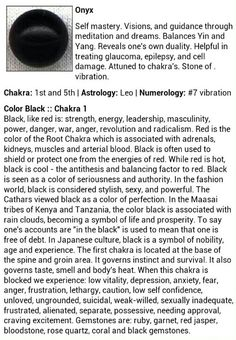 Onyx gemstone, All about the stone, hope it helps ^.^