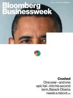 IlPost - Bloomberg Businessweek (US) - Il numero del 4 novembre, con il netto giudizio sul primo anno di rielezione di Obama