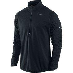27b4c4045 Nike Men s Dri-Fit Thermal Element Running Jacket Black 424862-010 Running  Jacket