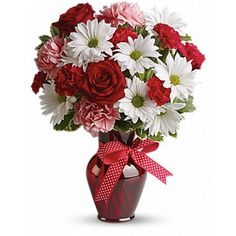 Order Hugs and Kisses Bouquet with Red Roses valentine from Villere's Florist, your local Metairie florist. Send Hugs and Kisses Bouquet with Red Roses valentine for fresh and fast flower delivery throughout Metairie, LA area. Valentine Bouquet, Valentines Flowers, Romantic Flowers, Beautiful Flowers, Flowers Gif, Fresh Flowers, White Flowers, Bouquet St Valentin, Send Flowers Online