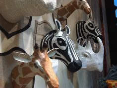 Safari Animals Paper Crafts 14