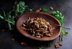 This Low-Carb Pecan Stuffing recipe is the perfect holiday side dish for people on low-carb LC/HF ketogenic Atkins Paleo or Banting diets. Budget Meal Planning, Cooking On A Budget, Budget Meals, Budget Recipes, Stuffing Recipes, Pecan Recipes, Paleo Recipes, Paleo Meals, Side Dishes