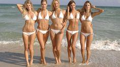 Victoria Secret Bikini Girls HD Wallpaper
