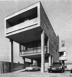 Mario Botta: House in Stabio, 1967.