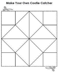 Make your own cootie catcher a.a fortune teller! For multiplication Math Games, Math Activities, Homework Games, Math Math, Teaching Math, Teaching Resources, Cootie Catcher Template, Teacher Worksheets, Fortune Teller