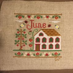 Finish #19 for 2015 June Cottage by Country Cottage Needleworks