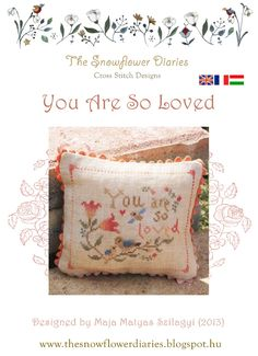You Are So Loved - free cross stitch chart