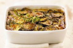 Courgette and caraway bake - Tesco Real Food