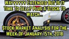 Wayyy extended, but is it a sell signal?- Stock market analysis for week...