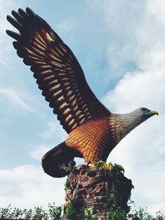 Eagle square, Langkawi 🦅