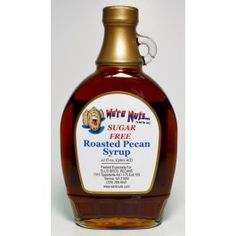 Sugar Free Roasted Pecan Syrup - 12 oz.