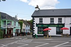 The bar in the village of Cong (West of Ireland), made famous by The Quiet Man, starring John Wayne and Maureen O'Hara. I visit there often.