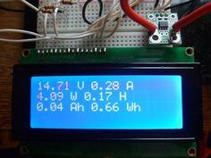 DIY Amp / Watt Hour Volt Meter - Arduino