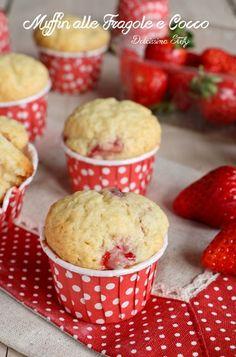 Muffin alle Fragole e Cocco (b)