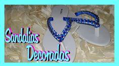 DIY Sandalias Decoradas