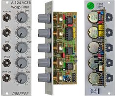 "Format: Eurorack Name: A-124 Wasp Filter Manufacturer: Doepfer Description"" a special 12dB multimode filter using the ""strange"" filter circuit of the ""EDP Wasp"" URL: https://www.youtube.com/watch?v=xhNljvO0GCc"