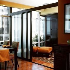 Add elegance and beauty to your living space with our room dividers and sliding doors.