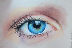 Сегодня я покажу, как рисовать глаз пастелью. Главное, что нам понадобится — это терпение. Рисование — задача не из лёгких (особенно рисование портрета), поэтому я решила показать, как нарисовать одну из самых важных частей на лице, а именно, глаз. Не стоит расстраиваться, если что-то не сразу получится, так как главное в рисовании, в принципе, как и в любом деле, — это практика, практика и ещё раз практика.