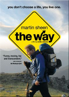 """The Way"" with Martin Sheen -- I loved this movie. It was filmed in it's entirety in Spain and France along the actual Camino de Santiago. It truly is an inspiring story about stepping out of our daily lives to simply walk, reflect and connect with others. I hope to walk the Camino de Santiago one day! It's on my bucket list! :)"