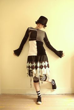 Neat outfit, I'm too old to pull something like this off, but my daughter could probably rock it.