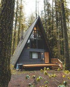 Beautiful A Frame Cabin Design
