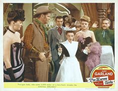 The Harvey Girls...Judy Garland was fantastic and very funny